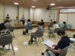 令和2年度 第1回「家族介護者教室」を開催しました。